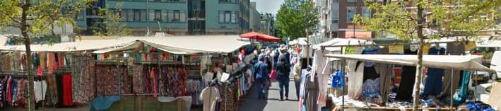 Parkeren Dappermarkt Amsterdam