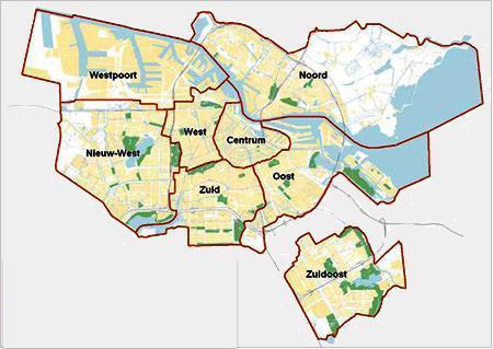Parkeertarieven En Parkeerzones Amsterdam Per Stadsdeel