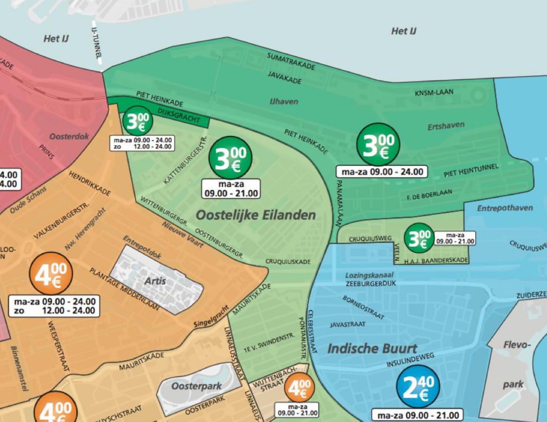Delflandlaan 3 5 Amsterdam Parkeren Amsterdam Nyc