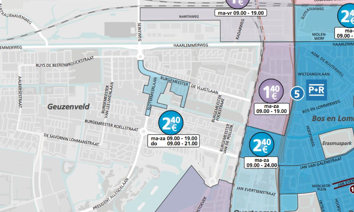 Betaald Parkeren Amsterdam Zuidoost