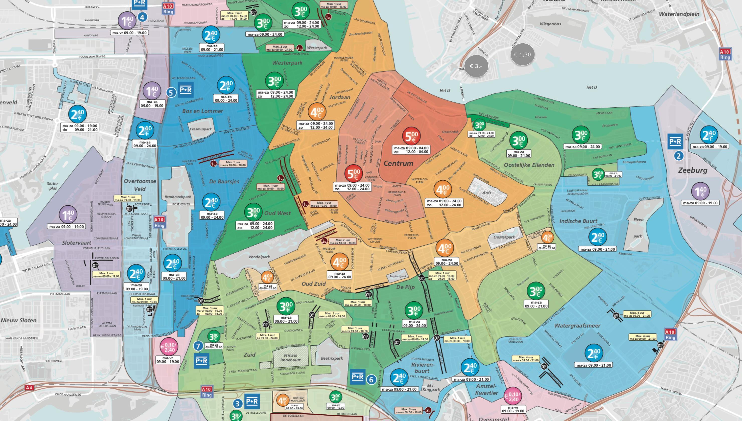 Tag Parkeerzones Den Bosch Kaart